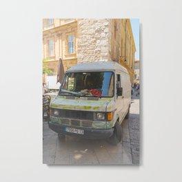 Marché, Aix-en-Provence Metal Print