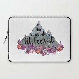 TBR Is Mt Everest Laptop Sleeve