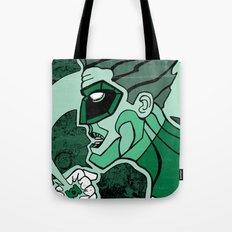Emerald Flashlight Tote Bag