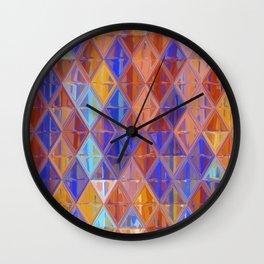 kaleidoscope 2 Wall Clock