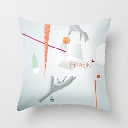 Frask - Hands Throw Pillow