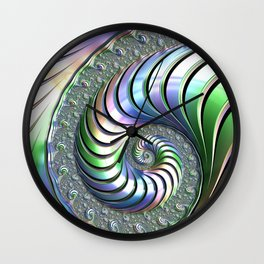 Colorful Spiral Wall Clock