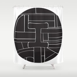 Circle I Shower Curtain