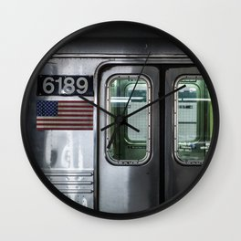 New York City Subway Wall Clock