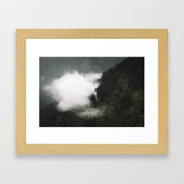 Going-To-The-Sun-Road Framed Art Print