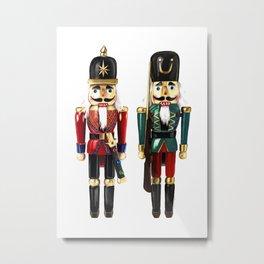 Nutcrackers Metal Print