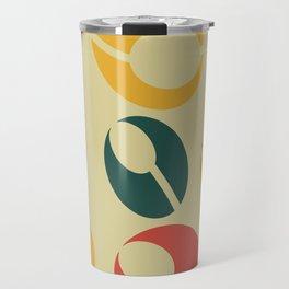 Mid-Century Modern Martini (gold) Travel Mug