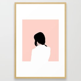 turn around, dezi Framed Art Print