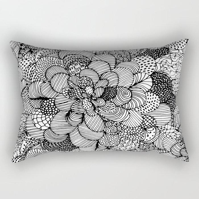BW Rectangular Pillow
