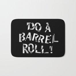 Do a barrel roll! Bath Mat