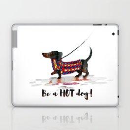 Hot Dachshund dog Laptop & iPad Skin