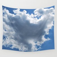 cloud Wall Tapestries featuring Cloud by Sarah Shanely Photography