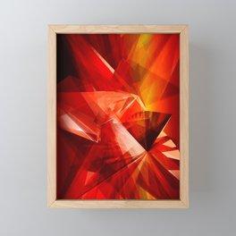 Abstrakt - Feuer der Leidenschaft Framed Mini Art Print