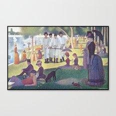 A Clockwork Sunday Canvas Print
