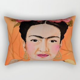 frida a coyoacan Rectangular Pillow
