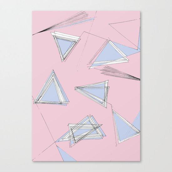 UNdone - pantone Canvas Print