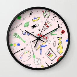 School Matter Wall Clock