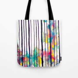 Striped colors 2 Tote Bag