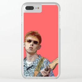 Pink Krule Clear iPhone Case