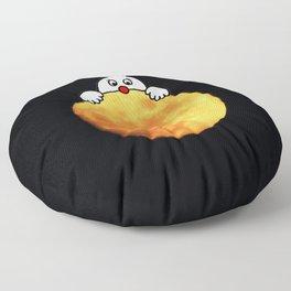 Man in the Moon Floor Pillow