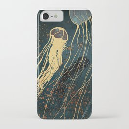Metallic Jellyfish iPhone Case