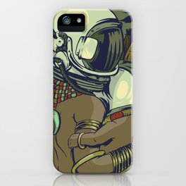 Galactic Tribe iPhone Case