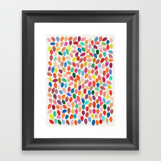 rain 2 Framed Art Print