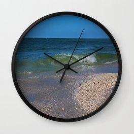 Summer at the Shore Wall Clock