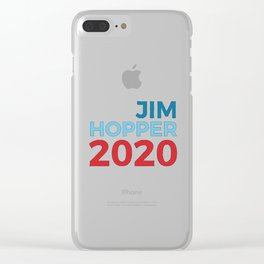 Jim Hoper Clear iPhone Case