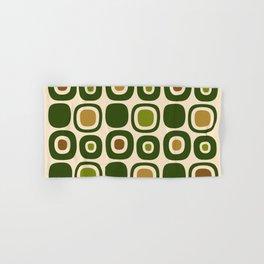 Mid Century Modern Garden Path Pattern 321 Hand & Bath Towel