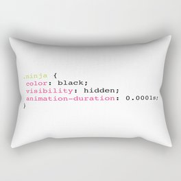 Coding Ninja Rectangular Pillow