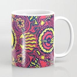 Tribal Gathering Mandala Coffee Mug
