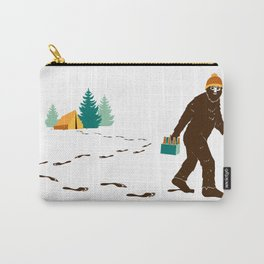 A Hairy Camp Robber Carry-All Pouch