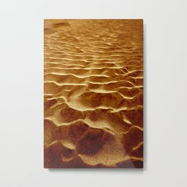 Golden Sands of The Outer Banks Metal Print