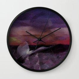 Whale Tale Wall Clock
