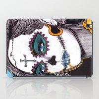 dia de los muertos iPad Cases featuring Dia de los Muertos by Joseph Walrave
