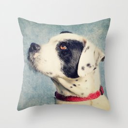 Lovely Dog Throw Pillow
