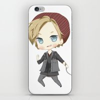 infamous iPhone & iPod Skins featuring Pewdiepie Infamous: Second Son by PumpkinElite