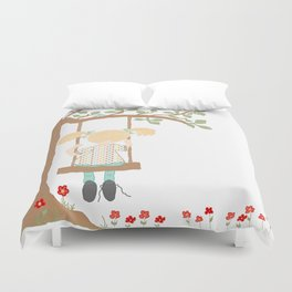 On the Swing, In the Tree Duvet Cover