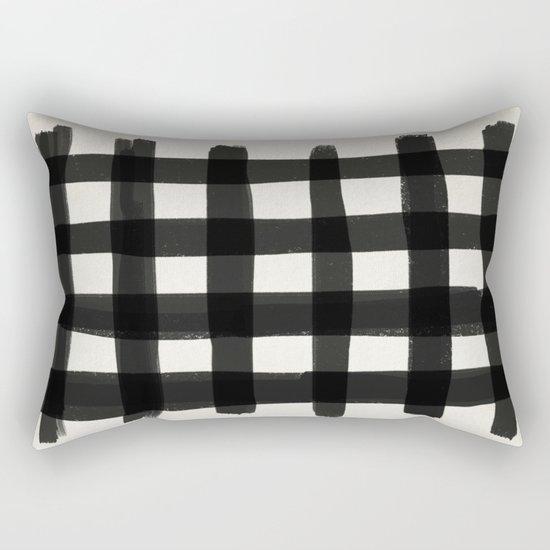 Checkish Rectangular Pillow