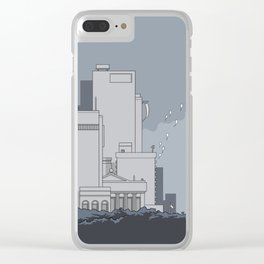 City #5 Clear iPhone Case