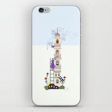 Indian miniature interpreted iPhone Skin