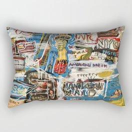Manhattan World Rectangular Pillow