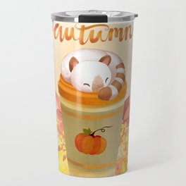 Hello Autumn Travel Mug