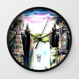 Final Valley Wall Clock