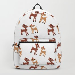 Classic Rudolph and Clarice Backpack