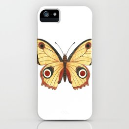 Juno Butterfly Illustration iPhone Case