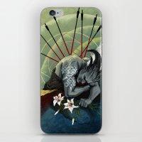 """dragon age iPhone & iPod Skins featuring Dragon Age - Qunari - Betrayal by Barbara """"Yuhime"""" Wyrowińska"""