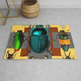 BUGGY INSECT LOVERS ART Rug