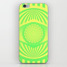 Green/Yellow Ombre Pattern iPhone & iPod Skin